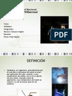 diapositivas de soldadura