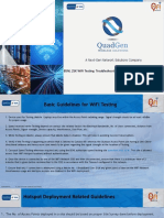 Basic Guidelines for WiFi Testing & Troubleshooting PDF
