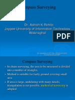 3. Compass Surveying
