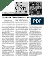 Historic Irvington Newsletter - 2018 Fall