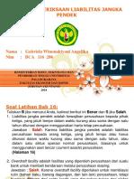 PPT AUDIT BAB 16 PEMERIKSAAN LIABILITAS JANGKA PENDEK