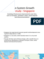 Urban System Growth - Singapore (1)