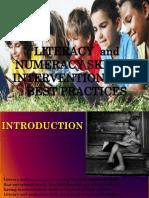 Literacy Powerpoint