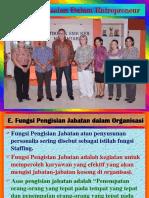Entre III C Pengorganisasian