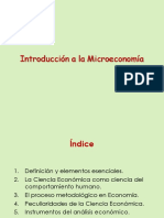 Sem 01_Introduccion a La Microeconomia