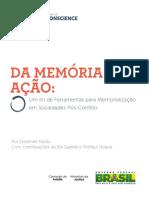 Um Kit de Ferramentas Para Memorialização Em Sociedades Pós Conflito