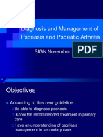 Diagnosis and Management of Psoriasis and Psoriatic Arthritis