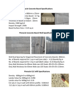Pinnacle Concrete Board and Wall Specifications[2]