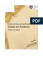 Design Project Guideline - (March-July 2019)