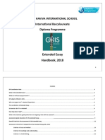 GHIS_Extended Esaay Students Handbook_Updated