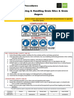 Safe Operating Procedures 04 Storing and Handling Grain Silos and Grain Augers