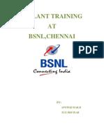 Bsnl Inplant Training Reportsrm 140916012254 Phpapp02