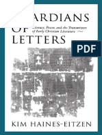 Haines-Eitzen_Guardians of Letters - Literacy, Power, and the Transmitters of Early Christian Literature.pdf