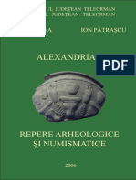 Alexandria. Repere Arheologice Si Numism