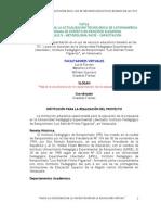 Programa de Capacitación en el uso de recursos educativos basados en las TICs
