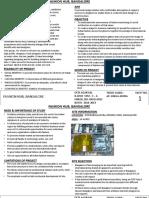 Synopsis Sheets