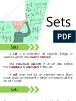 Sets - Abstract Algebra