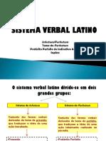 Sistema Verbal Latino - Infectum-Perfectum