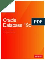 Caracteristicas de Oracle database 19c