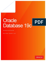 Caracteristicas de Oracle database 19c