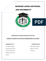 Arbitration Project by Utkarsh