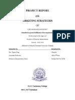 HDFC_LIC right MARKETING STRATEGIES.doc
