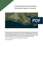 Economic Impacts of Coastal Lawsuits