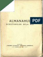 Sebastian Bornemisa - Almanahul Scriitorilor de La Noi, 1911