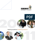 General Information - Sunway University College 2011