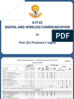 8IT01 UNIT I Digital and Wireless Communication