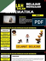 MASALAH BELAJAR-MENGAJAR DALAM MATEMATIKA.pptx