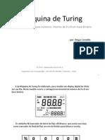 Diego Cornélio - Máquina de Turing SOMA 1 - INFNET