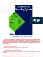 Teaching in Sports
