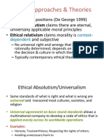 2 Ethics Theories