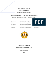 Makalah Hubungan Etika dan Sosial terhadap Penerapan PKN.docx