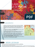 Culture and Heritage of Punjab