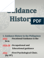 Guidance History Edited