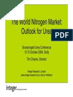 The World Nitrogen Market
