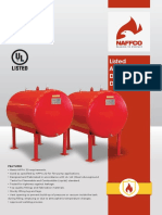 Naffco Diesel Tank for Fire Protection Details