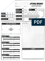 SW RPG Starship Sheet