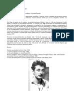 Poèmes de Jean-Pierre Duprey