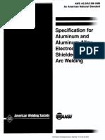 ANSI-AWS A5.3-M-A5.3-1999