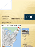 2-French Colonial Architecture