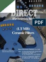 Ceramic Filter Ltmb