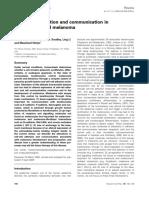 Adhesion, Melanocyt, Melanoma