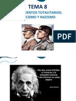 Tema 8 - Fascismo