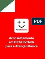 Manual de Orientação Pré e Pós-Teste Anti-HIV