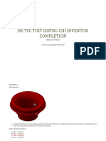 Inventor Completion Exam (Test)