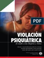 Violación Psiquiátrica