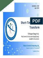Lecture02 Stft Yhyang Mir 2018